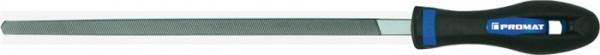 Werkstattfeile Länge 200mm Querschnitt 8mm Hieb 2 Vierkant 2K-Ergo PROMAT
