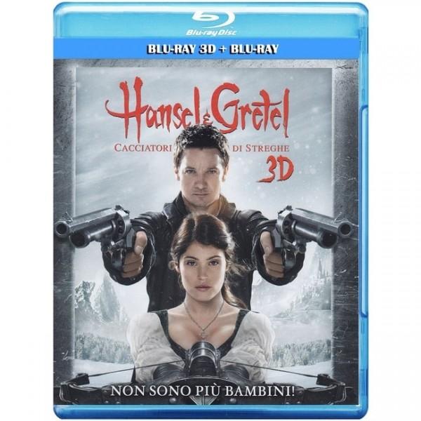 Hänsel und Gretel - Hexenjäger (Blu-ray 3D+2D) Deutscher Ton