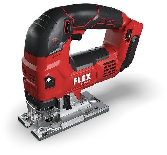 FLEX Akku-Stichsäge JS18.0-ECC *Bügelgriff* Solo/Karton 18V Bürstenlos