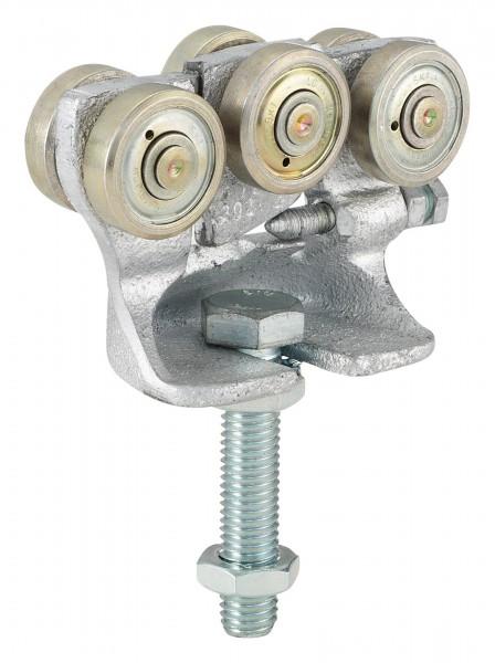 Helm Rollapparat Nr. 192 für Profil 100 verz. doppelpaarig m. Gegendruckrolle