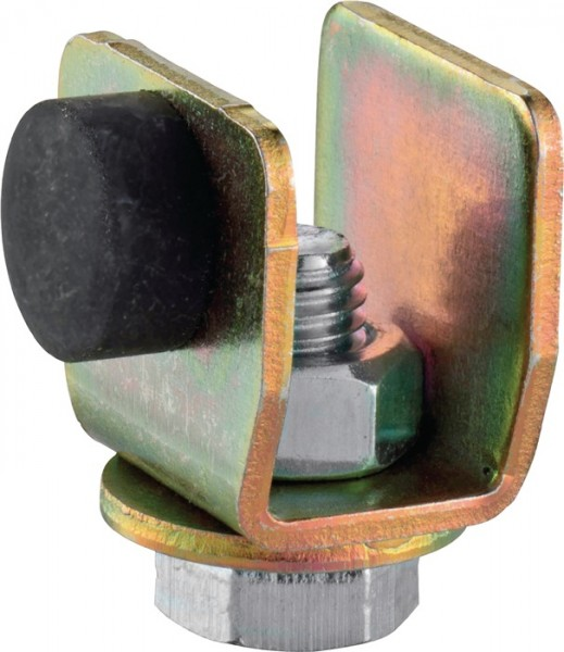 Schienenstopper 400 P Profil 400 Stahl Oberfläche galvanisch verzinkt HELM