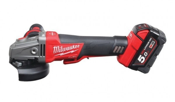 Milwaukee M18CAG125XPDB-502X Winkelschleifer 18V 2x5Ah