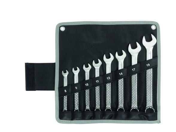 WGB Basic PLUS Ringmaulschlüssel-Satz 25-tlg 6-32mm in Rolltasche