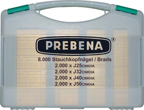 Prebena J-BOX Nägelsortiment (8000 Stk J-Nägel)