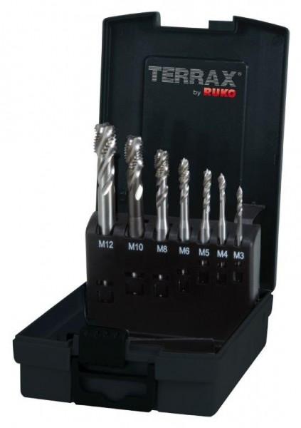 Ruko/TerraX HSSE-Co5 7tlg. FORM C M3-M12 Sackloch