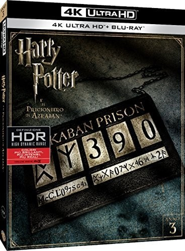 Harry Potter Teil 3 (4K Ultra HD+Blu-ray) Ton Deutsch 2 Disc`s