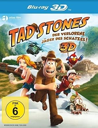 Tad Stones - Der verlorene Jäger des Schatzes! (3D Blu-ray+2D Blu-ray)
