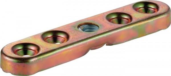 Flansch -93 493 Profil 400 Stahl galvanisch verzinkt für Holzflügel HELM
