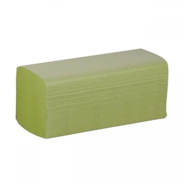 Papierhandtücher 24x21,5cm 2-lagig grün (4000 Stk)