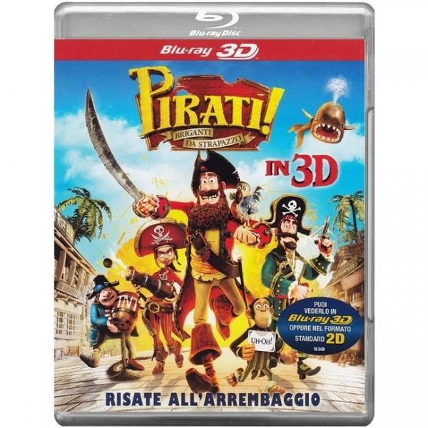 Piraten-Ein Haufen merkwürdiger Typen (Blu-ray 3D+2D) Deutscher Ton