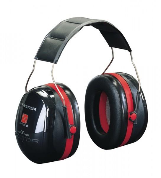 3M Gehörschutz OPTIME III SNR 35 dB gepolsterter Kopfbügel doppelschalig