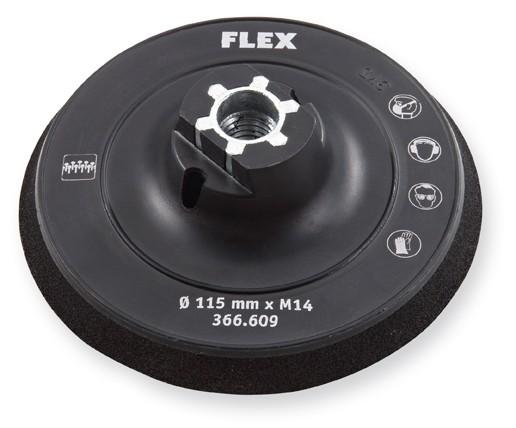 FLEX Klett-Schleifteller Ø 115 Bowl