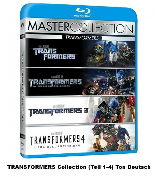 Transformers Collection 1-4 (Blu-ray) Deutscher Ton