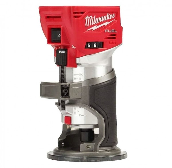 Milwaukee M18FTR-0X Akku-Kantenfräse/-Kombifräse 18V in HD-Box FUEL