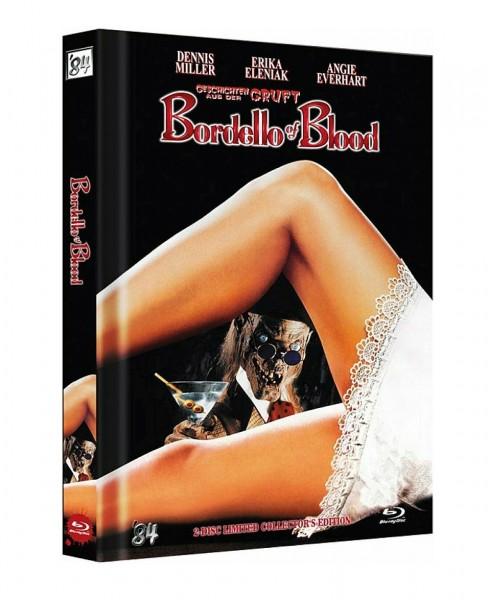 Bordello of Blood (Uncut) Mediabook [Blu-ray+DVD] Limited Edition 3000