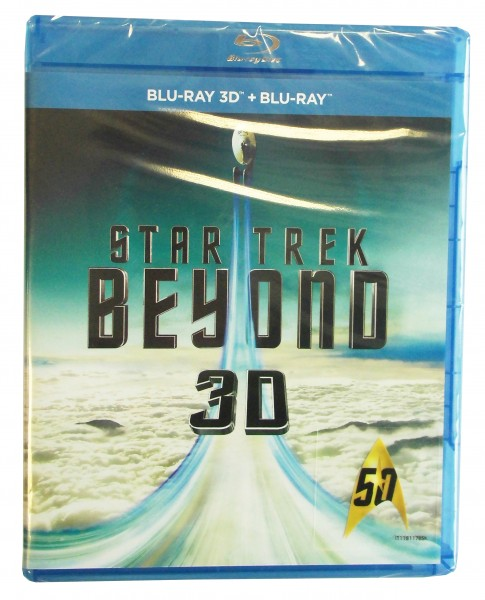 Star Trek Beyond 3D+2D BluRay (deutscher Ton)