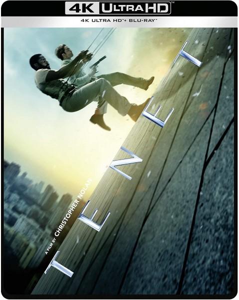 TENET Steelbook (4K Ultra HD+Blu-ray) 4K Tonspur deutsch
