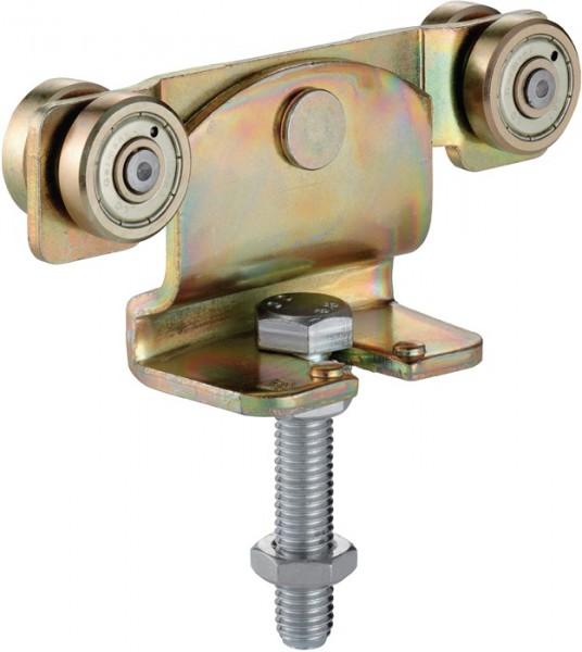 Rollapparat -91 191 passend für Profil 100 Stahl galvanisch gelb verzinkt 50 kg HELM