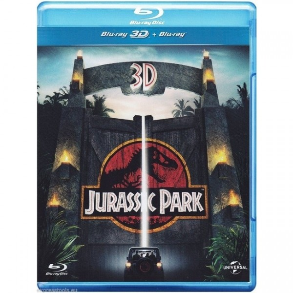 Jurassic Park (Blu-ray 3D+2D) Deutscher Ton