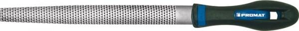 Holzraspel DIN 7263 C L. 200 mm Querschnitt 20 x 5,5 mm Hieb 2 halbrund 2K-Ergo