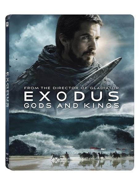 EXODUS - Götter und Könige (Blu-ray 3D+2D) Steelbook (deutscher Ton)